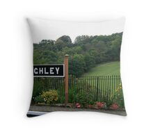 Highley Station II Throw Pillow