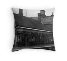 Highley Station III Throw Pillow
