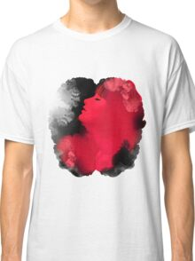 Psychedelic Ink Red Girl Classic T-Shirt