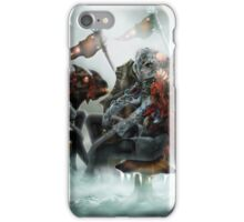 Robot Beings of the Mecha-Frost 1 iPhone Case/Skin