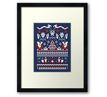 A Very Poke'Christmas Framed Print