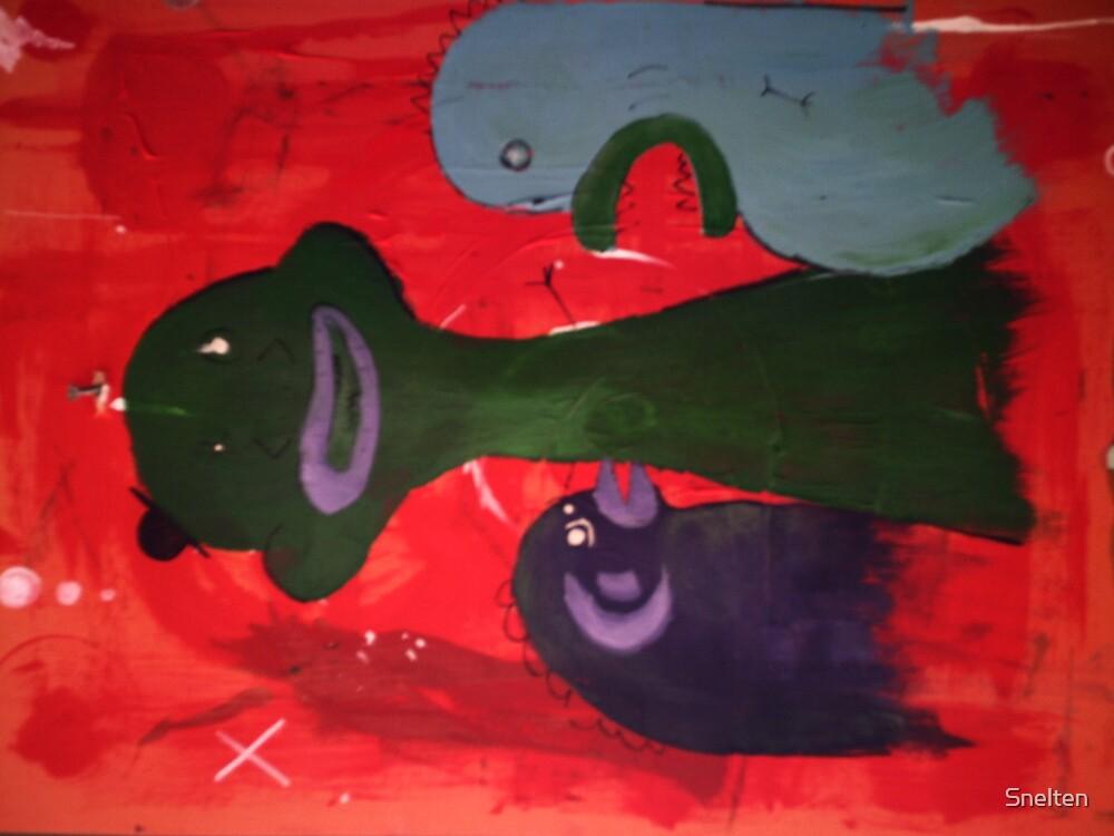 Spooky Monsters by Snelten