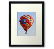 Painted Balloon Framed Print