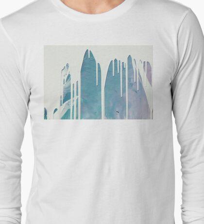 Milky Drip  Long Sleeve T-Shirt