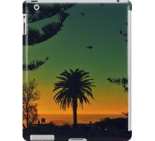 Blue & Orange Beach iPad Case/Skin