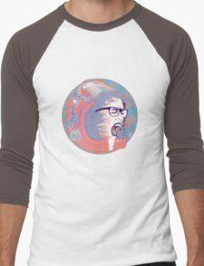 Space Astronaut Girl Men's Baseball ¾ T-Shirt