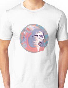 Space Astronaut Girl Unisex T-Shirt