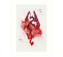 the will of talos Art Print