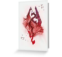 the will of talos Greeting Card