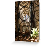 Privileged view Greeting Card