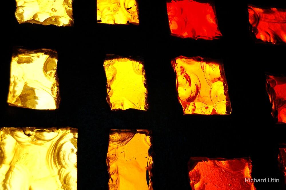 Through the glass  by Richard Utin