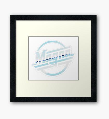 Sic Parvis Magna Framed Print
