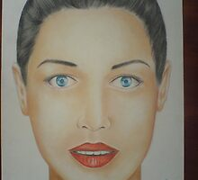 FACE OF LADY by jitender narwal