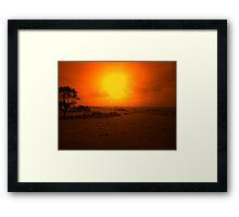 SAFE PASTURE Framed Print