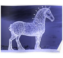 Horse In The Night Poster