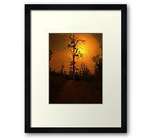 STAND TALL, STAND PROUD Framed Print