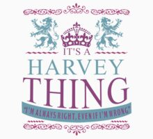It's a HARVEY Thing Kids Clothes