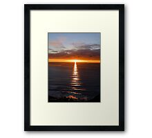 San Francisco Sunset 1412 Framed Print