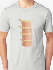 Glitch Ix Land  ladder tile center 01 spine T-Shirt