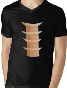 Glitch Ix Land  ladder tile center 01 spine Mens V-Neck T-Shirt