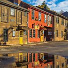 USA. Connecticut. Litchfield. Reflection. by vadim19