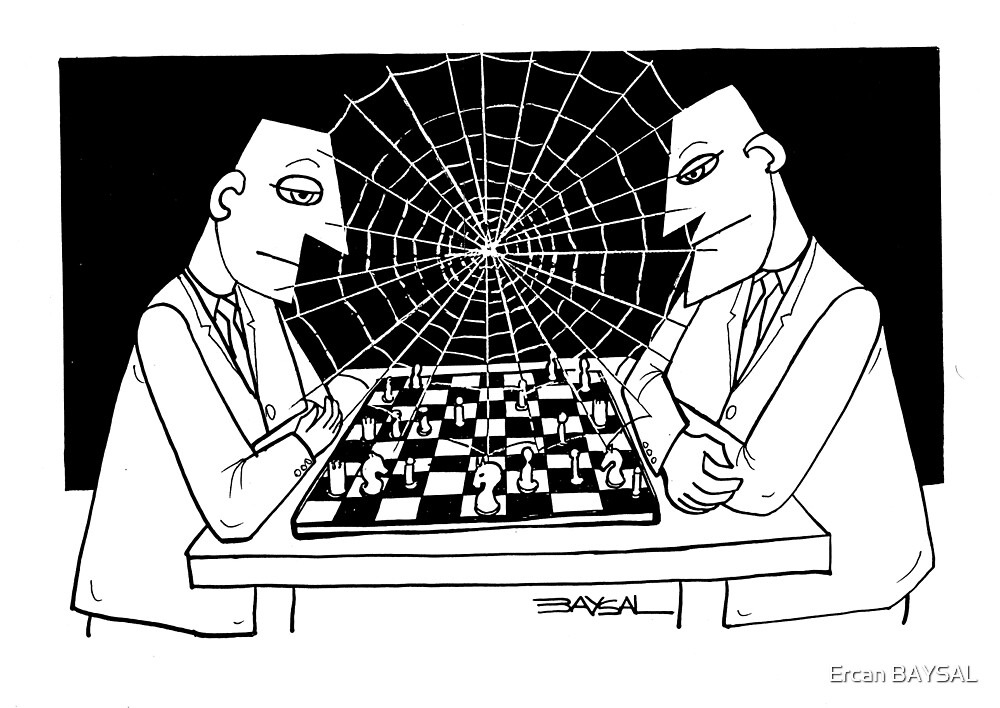 Game of chess by Ercan BAYSAL