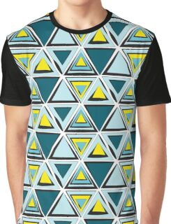Triangle tribal pattern Graphic T-Shirt