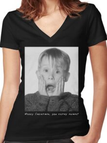 The Perfect Christmas T-Shirt Women's Fitted V-Neck T-Shirt