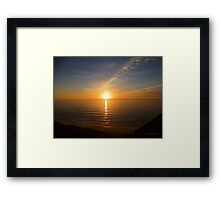 San Francisco Sunset 1414 Framed Print