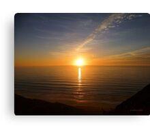 San Francisco Sunset 1414 Canvas Print