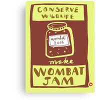 Wombat Jam Canvas Print