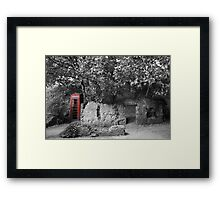 Old Red..... Framed Print
