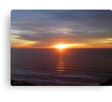 San Francisco Sunset 1416 Canvas Print