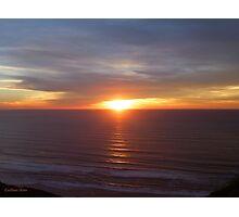 San Francisco Sunset 1416 Photographic Print