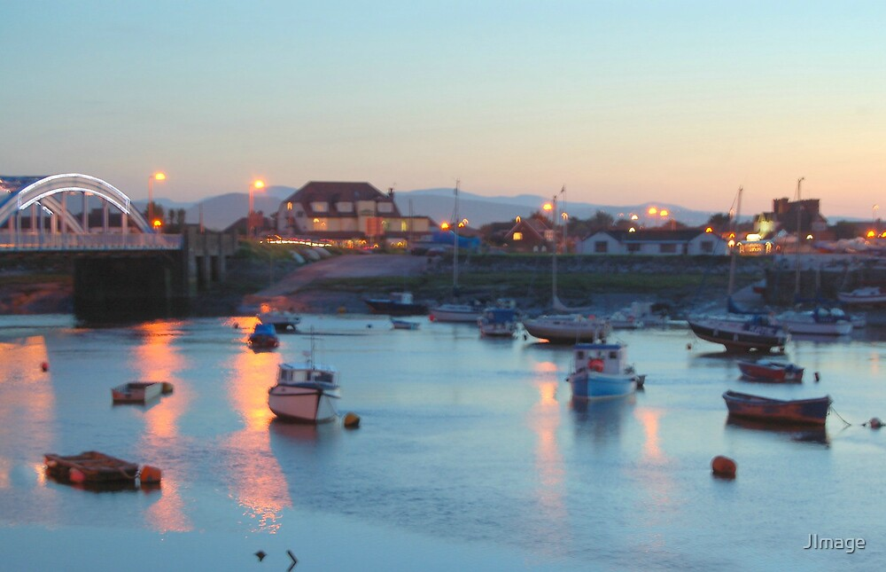 Rhyl Harbour by JImage