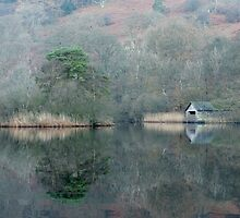 Rydal Water Boat House by Chris Tarling