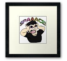 Markiplier - SPAAACE! Framed Print