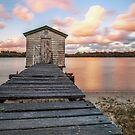 Wheel House Sunset - Sunshine Coast Qld Australia by Beth  Wode