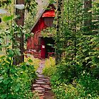 Little Church in the Woods by Nancy Stafford