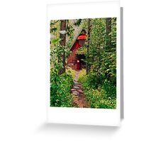 Little Church in the Woods Greeting Card