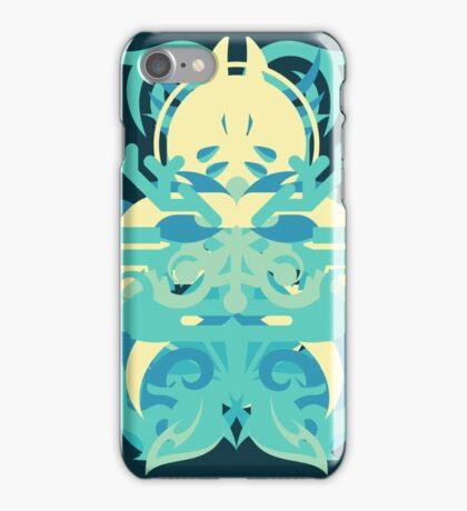 Abstraction Twenty-Nine Neptune - The Abstract Regalia Collection iPhone Case/Skin
