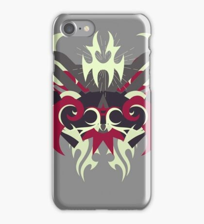 Abstraction Thirty Raijin - The Abstract Regalia Collection iPhone Case/Skin