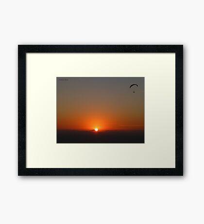 San Francisco Sunset 1421 Framed Print