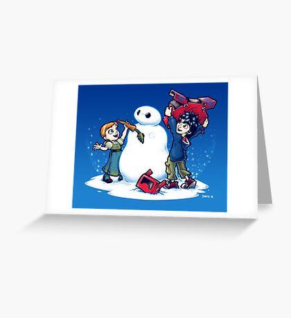 Do you wanna build a Snow max? Greeting Card