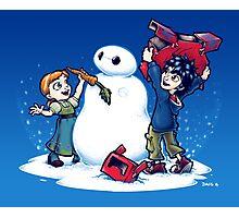 Do you wanna build a Snow max? Photographic Print