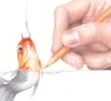 Goldfishing Sticker