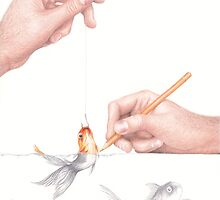 Goldfishing by Lars Furtwaengler