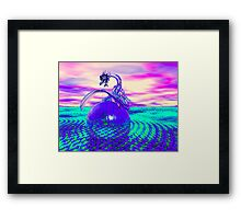 The Glass Dragon Framed Print
