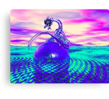 The Glass Dragon Canvas Print