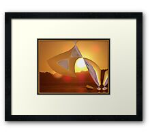 Poured From the Heavens  Framed Print
